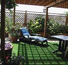 gazon sur terrasse beaux gazons page de la photo de terrasse avant pose du