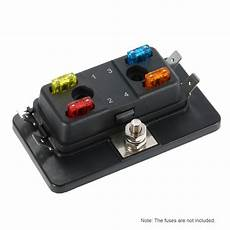 4 Way Mini Blade Fuse Box Holder Apm Atm 5a 10a 25a For