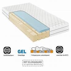 f a n frankenstolz matratze 7 zonen komfortschaum pro gel