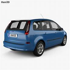 Ford C Max 2007 3d Model Vehicles On Hum3d