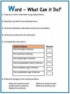 microsoft word what can it do editable worksheet by computer creations