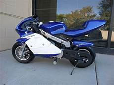 high performance honda clone 4 stroke 40cc blue pocket