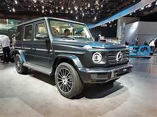 nouveau classe g the 2019 mercedes g class more capability less weight