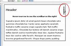 css scrollable div css tricks to show or hide horizontal and vertical scroll bar