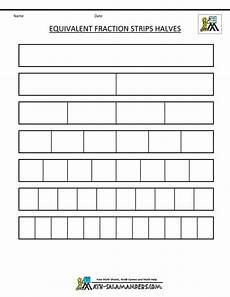 blank fraction worksheets 3866 fraction equivalent fractions