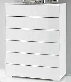 Weiße Kommode Mit Schubladen - staud premium hochkommode wei 223 glas kommode mit vielen