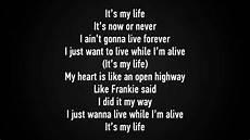 I Ts My Live bon jovi it s my lyrics hd