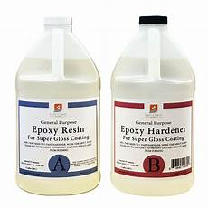 Epoxy Resin 4 Gal Kit Clear Gloss Coating