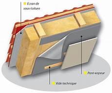 Isolation Mur Intérieur Pare Vapeur Pare Vapeur Gt Toiture En Pente Isol 233 E Avec Isolation Sur