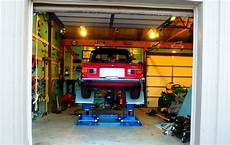 scissor lift for home garage shed other metro by