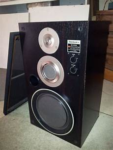 Technics Sb X500a Honeycomb Disc 3 Way Speaker System