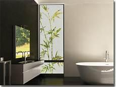 Glasbanner Bambuszweige Fensterperle De