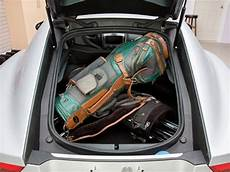 jaguar f type coupe trunk can a jaguar f type coupe really fit 2 golf bags