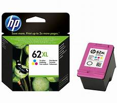 Druckerpatronen Kaufen - buy hp 62xl tri colour ink cartridge free delivery currys