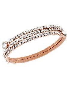 swarovski armband gold swarovski twisty bangle white gold classics