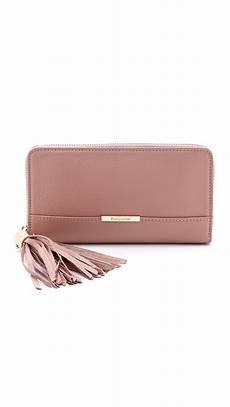 lyst see by chlo 233 vicki wallet black in pink