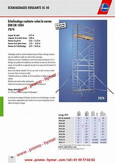 prix montage echafaudage m2 p74 echafaudage roulant 0 72 x 2m 7074 catalogue hymer tableau prix pour tous 233 chafaudages