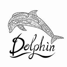 dolphin animal world coloring page coloring book pattern