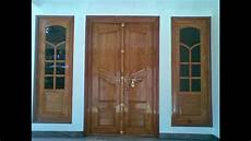 kerala double door wooden design youtube