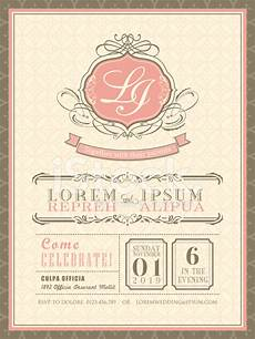 invitation card template vintage vintage pastel wedding invitation card background template