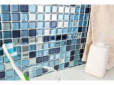 Infactory Selbstklebende 3d Mosaik Fliesenaufkleber Quot Aqua