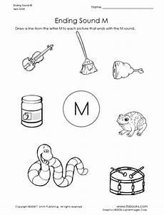 letter m sound worksheets 24314 ending sound of letter m