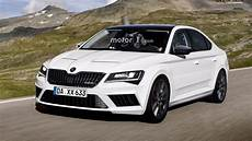 Skoda Superb Rs Trouble Hatch And Wagon Rendered