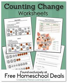 money worksheets change 2229 coins value of coins and its always on