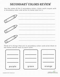 secondary colors worksheets 12813 secondary colors review coloring page education