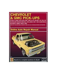 online auto repair manual 1997 chevrolet camaro regenerative braking 2002 chevrolet silverado 2500 haynes online repair manual