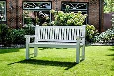 Weiße Gartenbank Holz - teak bank massiv 120 cm die gro 223 e gartenbank auswahl