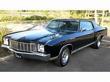 1972 Chevrolet Monte Carlo For Sale  ClassicCarscom CC