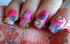 cute and girly nail art designs