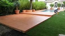 beton cire exterieur terrasse 31207 terrasse piscine en beton cire 1 terrasse