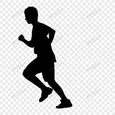 Berlari Siluet Gambar Unduh Gratis Grafik 400574460