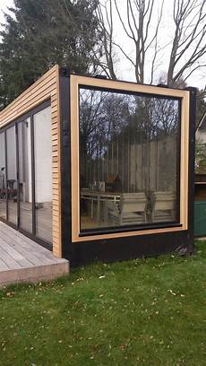 container transform 233 en pool house bardage en c 232 dre