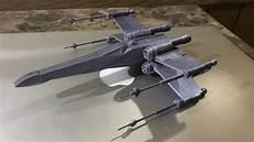 Malvorlagen Wars X Wing Starwars X Wing Fighter 3d Print From Thingiverse
