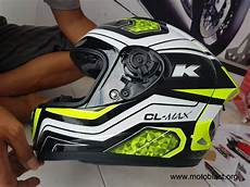 Helm Vixion Modif by Modifikasi Stiker Decal Helm Ink Cl Max Dan New Vixion