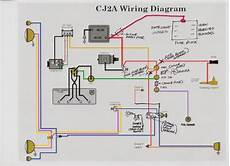 1948 jeep wiring diagram fuse block install the cj2a page forums