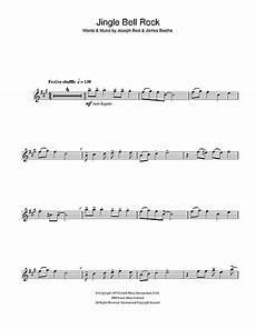 jingle bell rock sheet music by checker alto