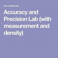 physical science measurement worksheets 13142 accuracy and precision lab with measurement and density measurement activities physics lab
