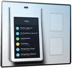 wink garage door wink adds touchscreen based home automation hub
