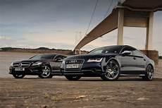 audi vs mercedes audi s7 vs mercedes cls 500 auto express