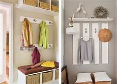 Garderobe Selbst Gestalten - kreative vorraum gestaltungsideen nettetipps de