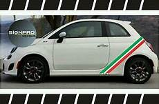 fiat 500 rally turbo panel decals side checkered rocker
