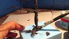 bauanleitung modellbaum aus gedrehten draht