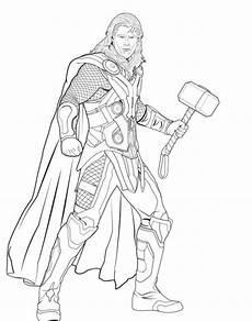 Ausmalbilder Superhelden Thor Ausmalbilder Thor Superhelden Malvorlagen