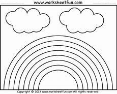 colors of the rainbow worksheets 12805 rainbow tracing and coloring 4 preschool worksheets free printable worksheets worksheetfun