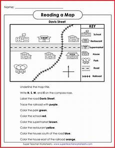 easy mapping worksheets 11537 teach basic map skills with this printable map activity students will learn how to read a map