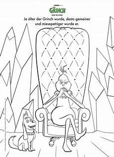 Grinch Malvorlagen Grinch Weihnachtspl 228 Tzchen Verlosung Zur Filmpremiere